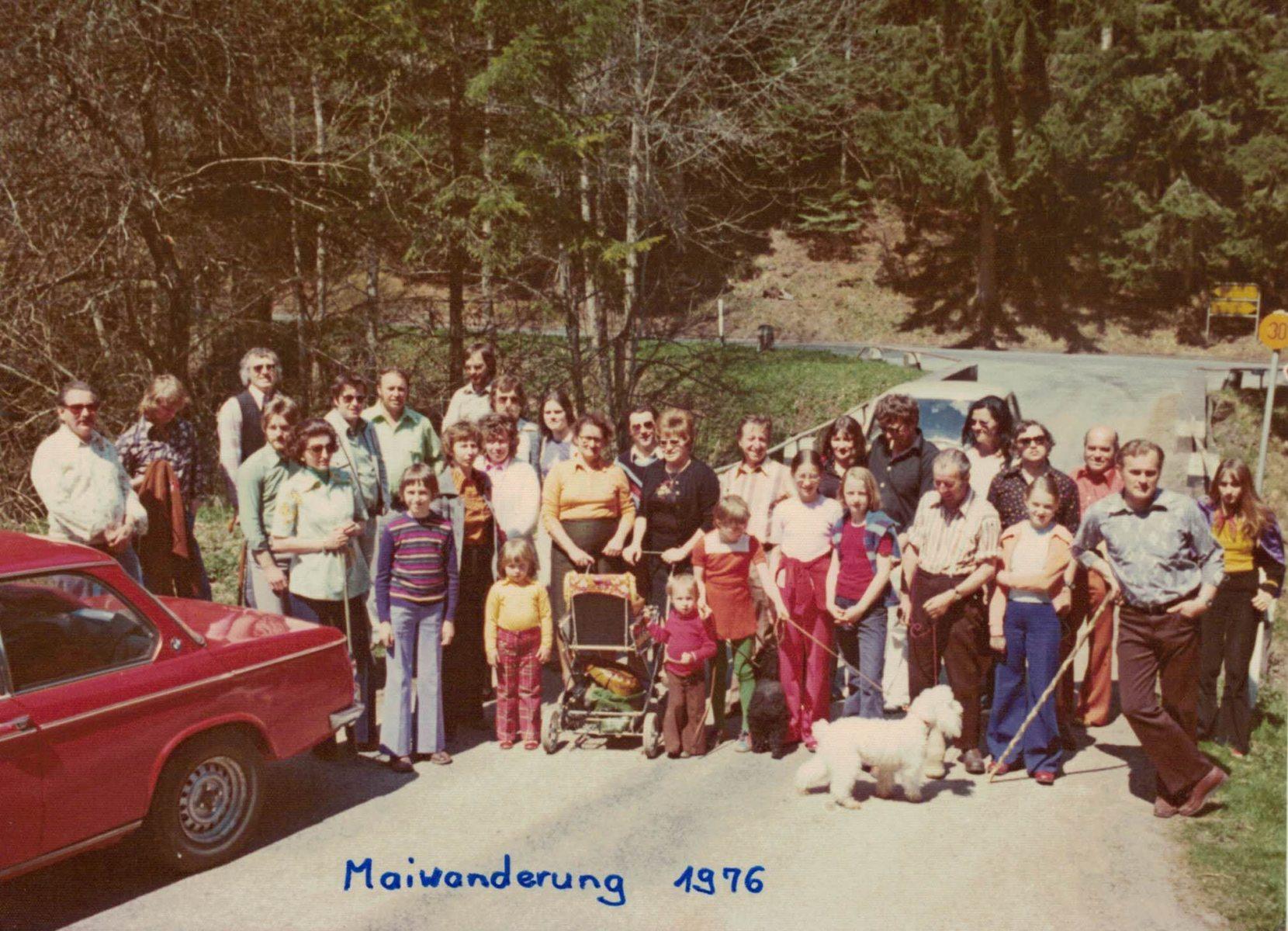 Maiwanderung 1976