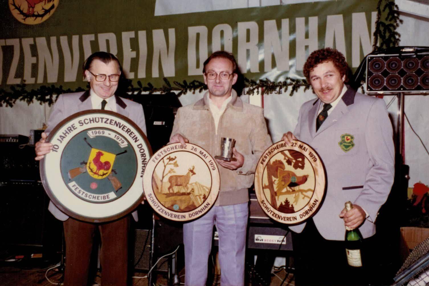 Sieger des Jubiläumsschießens 1979