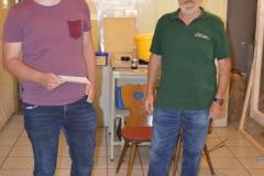 Adrian Ott und OSM Bernd Blocher
