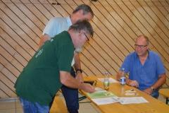 OSM Bernd und Bürgermeister Huber bei den Ehrungen
