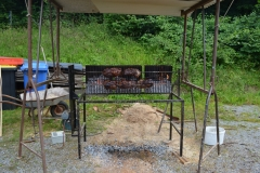 Hebbes Drehgrill in Aktion